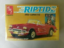 1984 AMT/ERTL ~ RIPTIDE 1960 CORVETTE ~ 1:25 SCALE MODEL KIT (NEW)