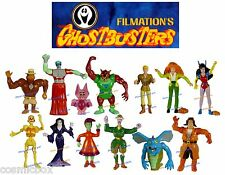 lot figurines GHOSTBUSTERS Filmation 1987 collection complète Tracy Eddie Futura