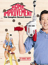Home Improvement - The Complete Second Season (DVD, 2005, 3-Disc Set) NEW    ct2