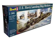 Revell Germany WWII U.S. Navy Landing Ship Medium (LSM) model kit 1/144