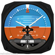 "New Trintec 10"" Artificial Horizon Aviation Instrument Clock Aviator"