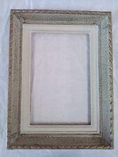 cadre bois patiné doré montparnasse  feuillure 24 cm x 16 cm frame format 2P
