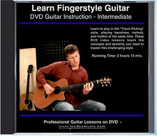 Learn Fingerstyle Guitar Lessons great for Gibson J-45 J-50 J-200 Songwriter etc
