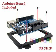 Black Cased UNO R3 MEGA328P ATMEGA16U2 Development board for Arduino + USB Cable