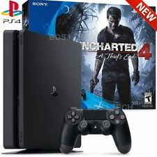 PlayStation 4 Slim 500GB Uncharted 4 Bundle - PS4 Console (Sony Latest Mode