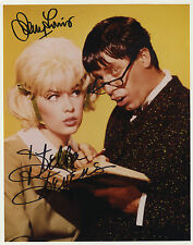 "Jerry Lewis and Stella Stevens in "" The Nutty Professor "" Hand Signed Photograph"