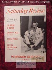 Saturday Review June 21 1958 JEAN COCTEAU ALLAN NEVINS LOUIS M. LYONS