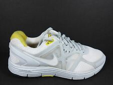 Nike Lunar Glide 3 Women's Size 7 Shoes White Yellow Grey Livestrong 454514 117