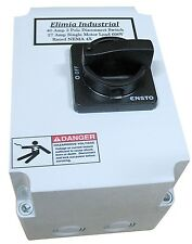 Elimia Enclosed 3 Phase Disconnect Switch DS40LC NEMA 4X 40 Amp 600V 30A 40A