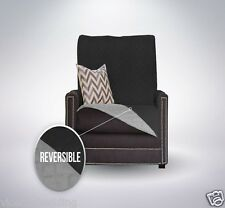 REVERSIBLE FURNITURE THROW QUILTED SOFA CHAIR SETTEE PET PROTECTOR SLIP COVER