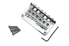 Puente Fijo Stratocaster cromado - Korean Chrome Strat Hard Tail Bridge Guitar
