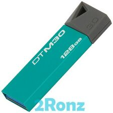 Kingston DTM30 128GB 128G USB 3.0 Flash Drive Disk DataTraveler Mini M30 Aqua