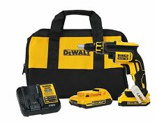 Dewalt DCF620D2 20V 20 Volt Lithium Ion 2.0AH MAX Brushless Drywall ScrewGun Kit