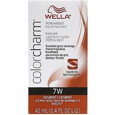 Wella Color Charm Liquid Haircolor 7w Caramel, 1.4 oz