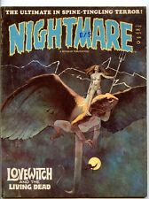 Nightmare #6  Kaluta Art  Jeff Jones Cover   Love Witch