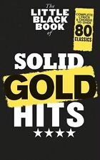 Little Black Book Of Solid Gold Hits Chart Play Rock POP Guitar Music Book