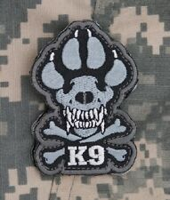 K-9 TACTICAL COMBAT ISAF DOGS OF WAR OEF OIF BADGE MORALE VELCRO MILITARY PATCH