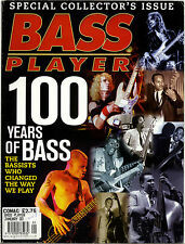 BASS PLAYER Guitar Magazine January 2000 100 years of Bass Collectors issue