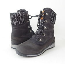 NWB  Salomon Women's Hime Mid Leather CSWP Winter Wear Shoe Size 7.5 Asphalt