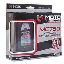 Car Motorcycle battery charger tender MotoCentric MC750 Five year warranty