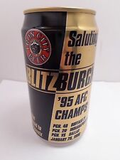 IRON CITY BLITZBURGH 1995 AFC CHAMPS PITTSBURGH STEELER FOOTBALL BEER CAN