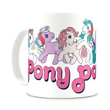 Official My Little Pony Pony Power Coffee Mug Cup - Boxed Retro Gift Ladies New