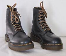 Dr. Doc Marten's Air Wair Black Leather Combat Boots Sz. 6.5 - 7 US, Size 4 UK