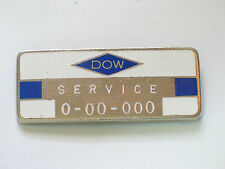 Dow Services Badge Pin Badge (#014)