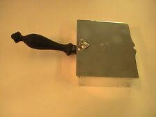 Ultra Rare Antique Silk Iron Crescent Silverware Co. Silverplate Lion w/ Sword