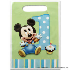 Mickey Mouse Baby Bags Loots 1st First Birthday Decoration Party Supplies Boy x8