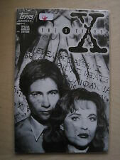 THE X FILES - LIMITED EDITION ASHCAN by PETRUCHA & ADLARD. RARE. TOPPS 1994