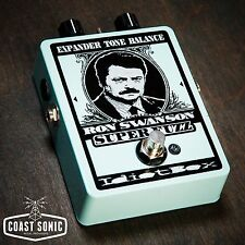 IdiotBox Effects Ron Swanson Super Fuzz Effects Pedal