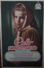 Programa de CINE. Título película: CIELO SOBRE EL PANTANO.