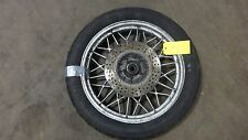 1983 BMW R100 RS Airhead R90 R80 R65 S551. rear wheel rim 18in snowflake