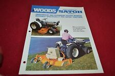 Woods Rotary Mowers For Satoh Tractors Dealer's Brochure YABE12
