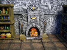 Small Fireplace Thomarillion Unpainted Terrain D&D Dwarven Forge