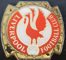 LIVERPOOL Vintage 70s 80s insert type badge Maker CLUBMAN Brooch pin 28mm x 27mm
