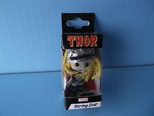 """The Mighty Thor String Doll 2.25""""in Tall  Key Chain or Phone Strap Marvel Cool!!"""