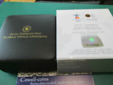 2010 Proof $1 2010 Vancouver Olympics  LUCKY LOONIE Canada .925 silver BOX/COA