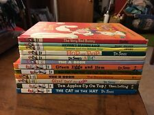 LOT 12 DR. SEUSS SUESS Beginner Learn to Read Cat in the Hat HB Books