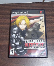 FullMetal Alchemist and the Broken Angel PS2 (Sony PlayStation 2, 2005)