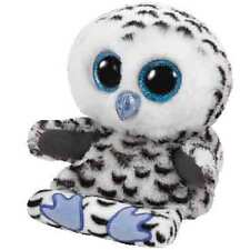 Ty Peek-A-Boos Omar the White Owl Plush ~ Holds Your Phone + Clean Your Screen