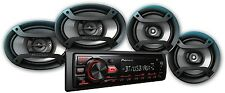"Pioneer Bluetooth Car Stereo Receiver 2x 6.5"" Speakers 2x 6"" X 9"" USB Aux In"