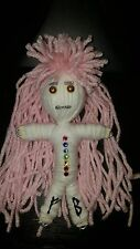 Swarovski Chakra Poppet Female Doll Intention/Spell herb infused Karma Keepers