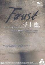 Faust DVD Johannes Zeiler Anton Adasinsky Alexander Sokurov NEW R3 Eng Sub