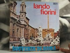 LANDO FIORINI - SOUVENIR DI ROMA - LP VERY GOOD VEDETTE RECORDS 1975 GATEFOLD