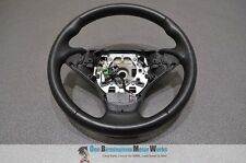 BMW 5 6 SERIES M SPORT BLACK LEATHER STEERING WHEEL E60 E61 E63 E64 2003-2006