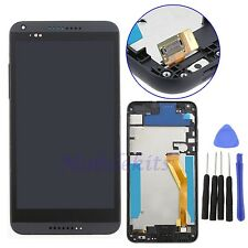 Black For HTC Desire 816 LCD Display Touch Screen Digitizer+Frame Assembly USA