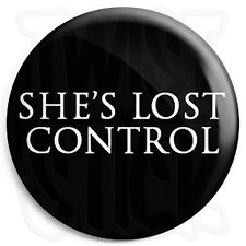 Joy Division - She's Lost Control - Black - Post Punk Indie 25mm Button Badge