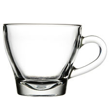 CAPPUCCINO/ESPRESSO CUP 6 OZ CLEAR GLASS FREE SHIPPING US ONLY